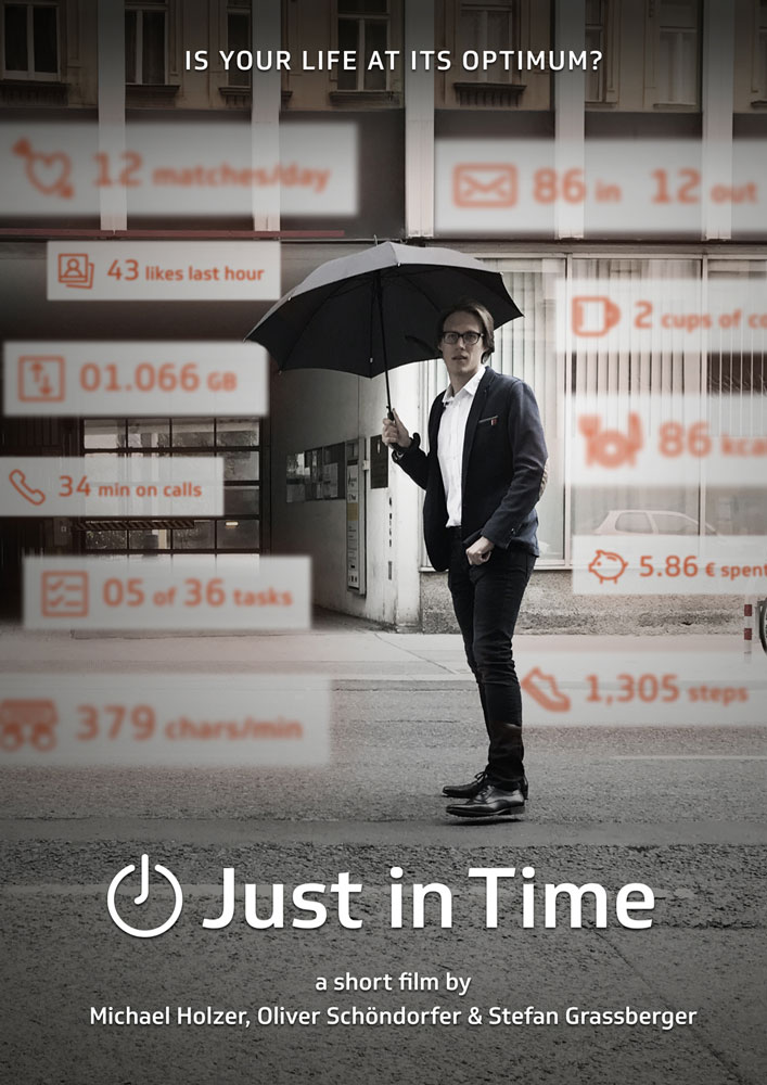 Just in Time Short Film Poster
